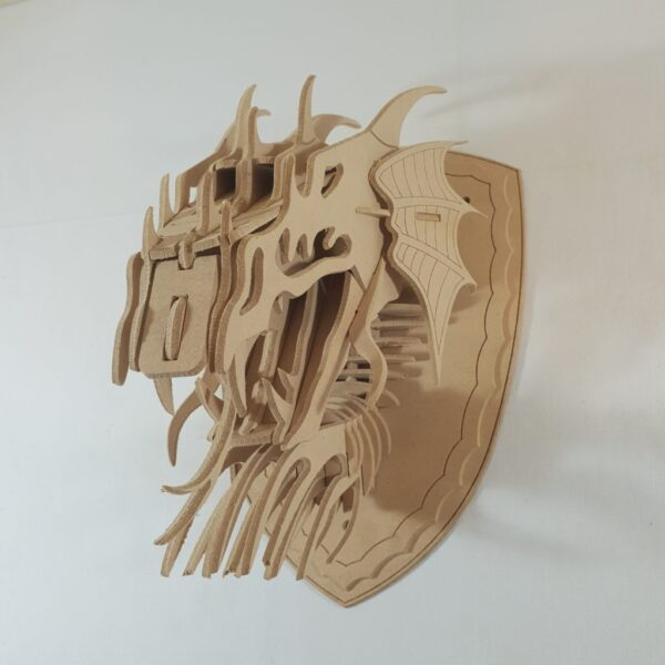 Wall Mounted Dragons Head