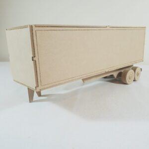 Truck Semi-trailer Cargo Container