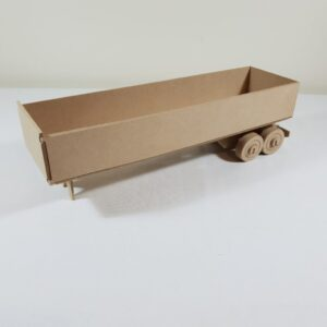 Truck Semi-trailer Open Cargo
